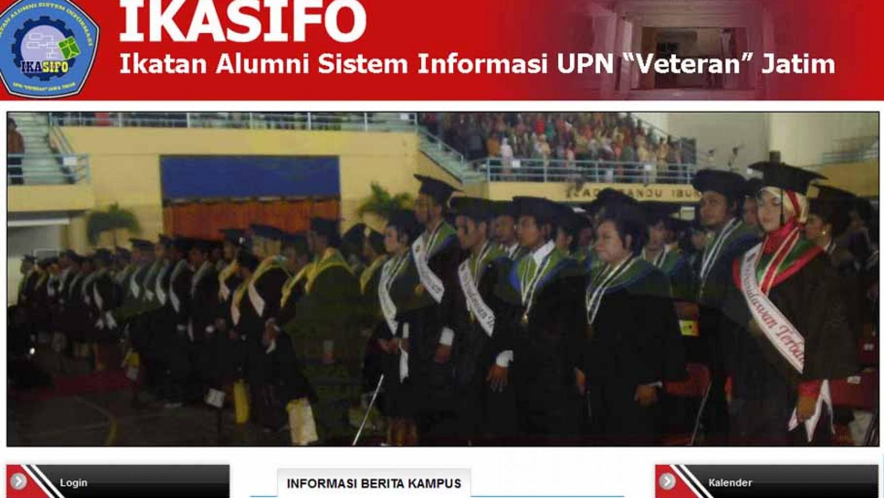 """Pembuatan Web Alumni UPN """"Veteran"""" Jatim"""